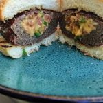 Bacon Cheddar and Jalapeno Stuffed Burgers