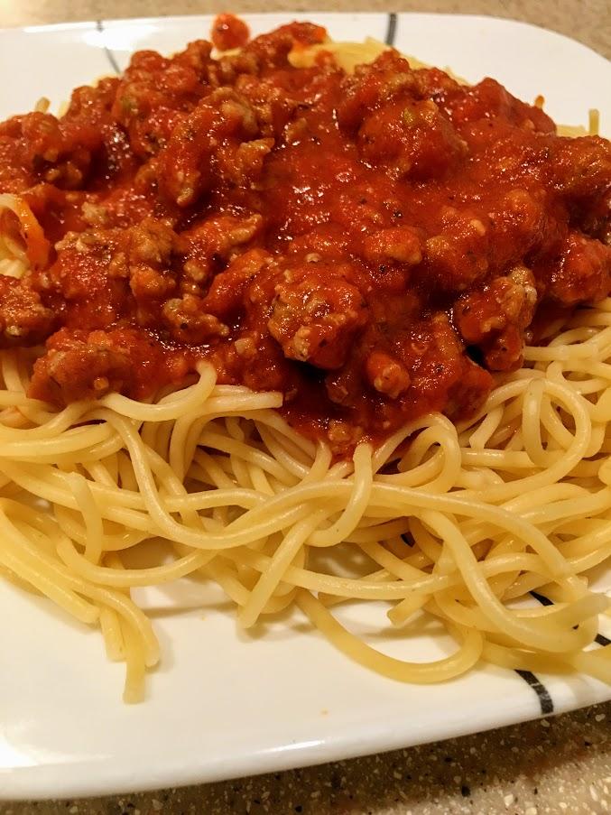 Upgraded Weeknight Spaghetti