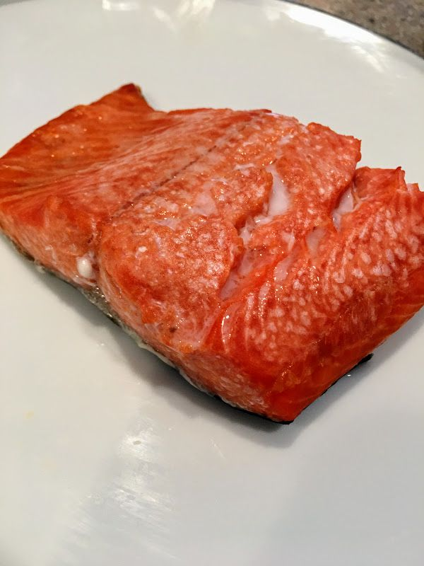 Broiled Salted Salmon