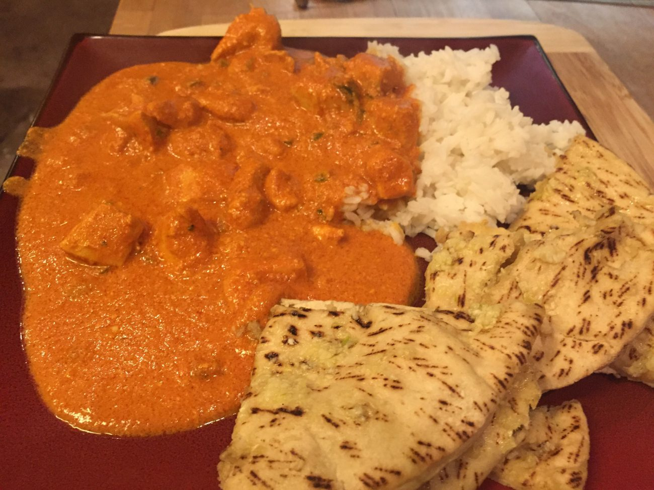 Spicy Chicken Tika Masala