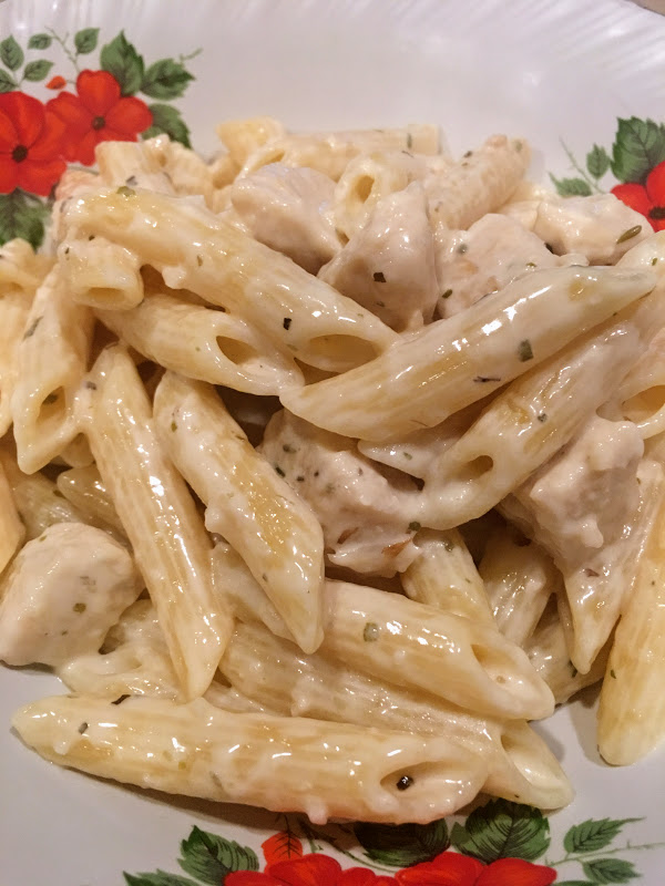 Creamy Garlic Chicken Pasta