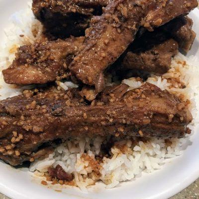 Pork Rib Adobo